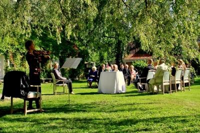 Ramme gård bryllup