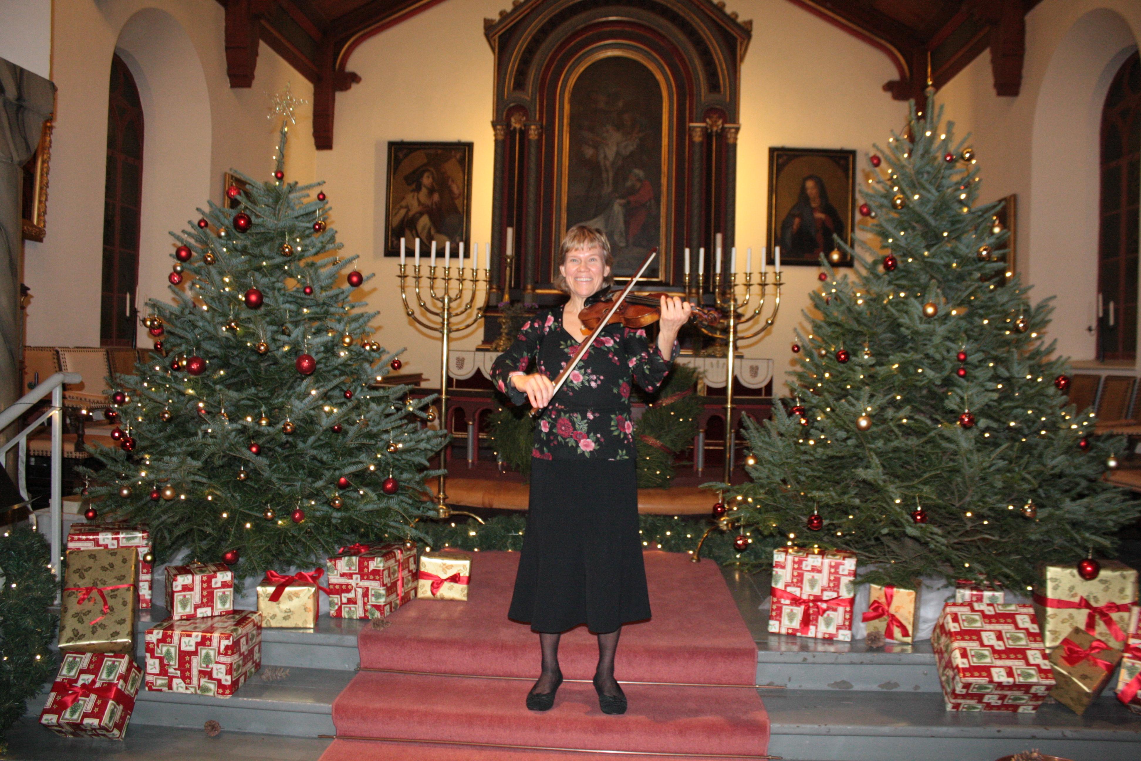 Konsert 11 desember Larvik kirke