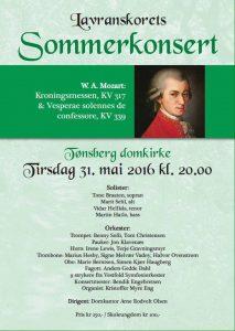 Konsert Tønsberg, Vestfold