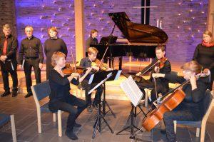 Julekonsert med Vestfold strykekvartett