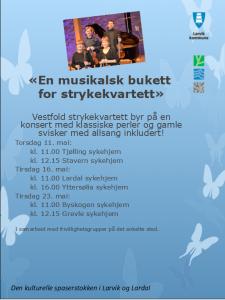 Konsert for den kulturelle spaserstokken