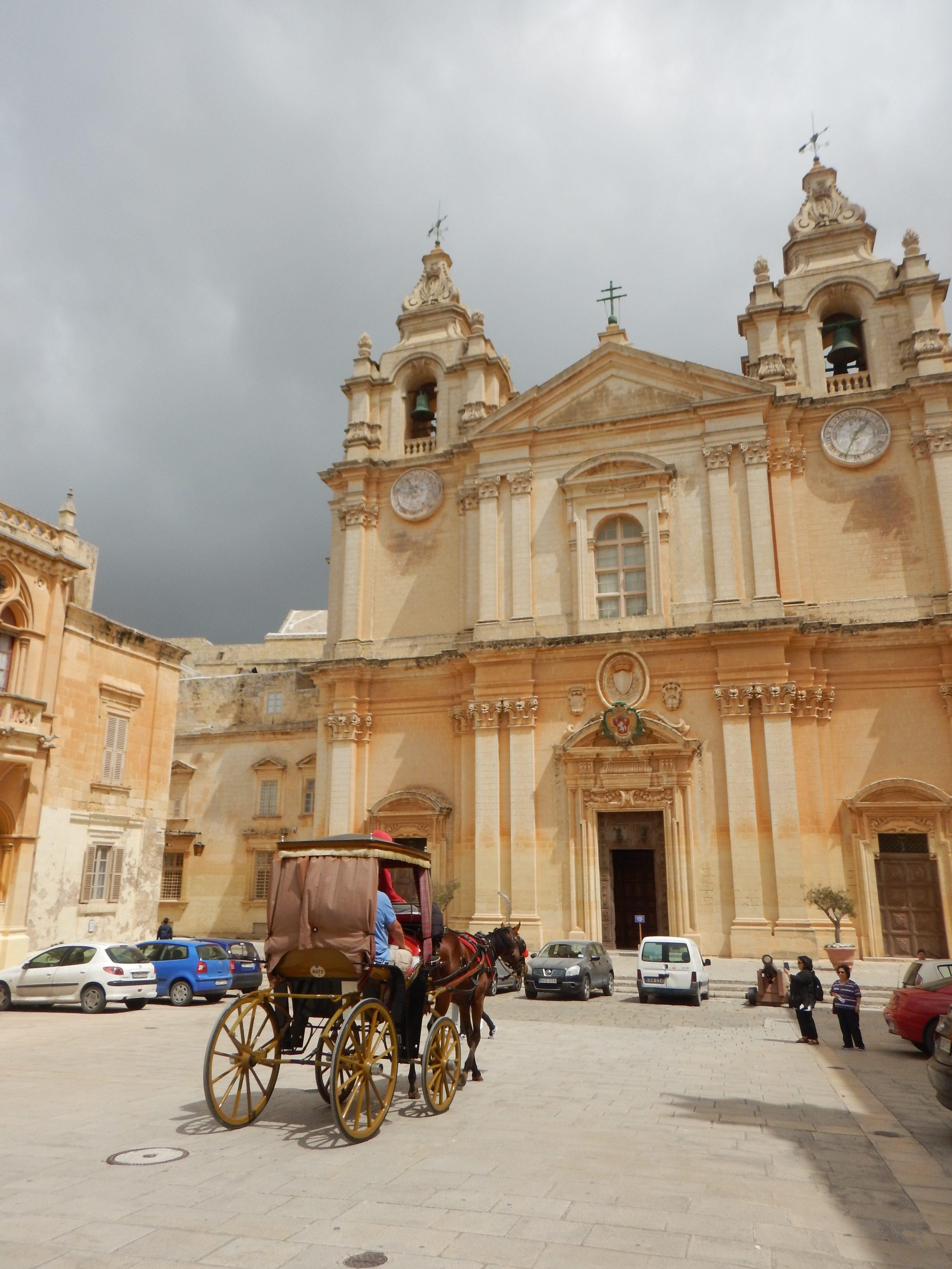 Mdina, verdens best bevarte middelalderby på MALTA