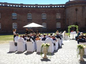 fiolin, bryllup, vielse