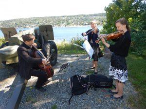 Strykekvartett i bryllup