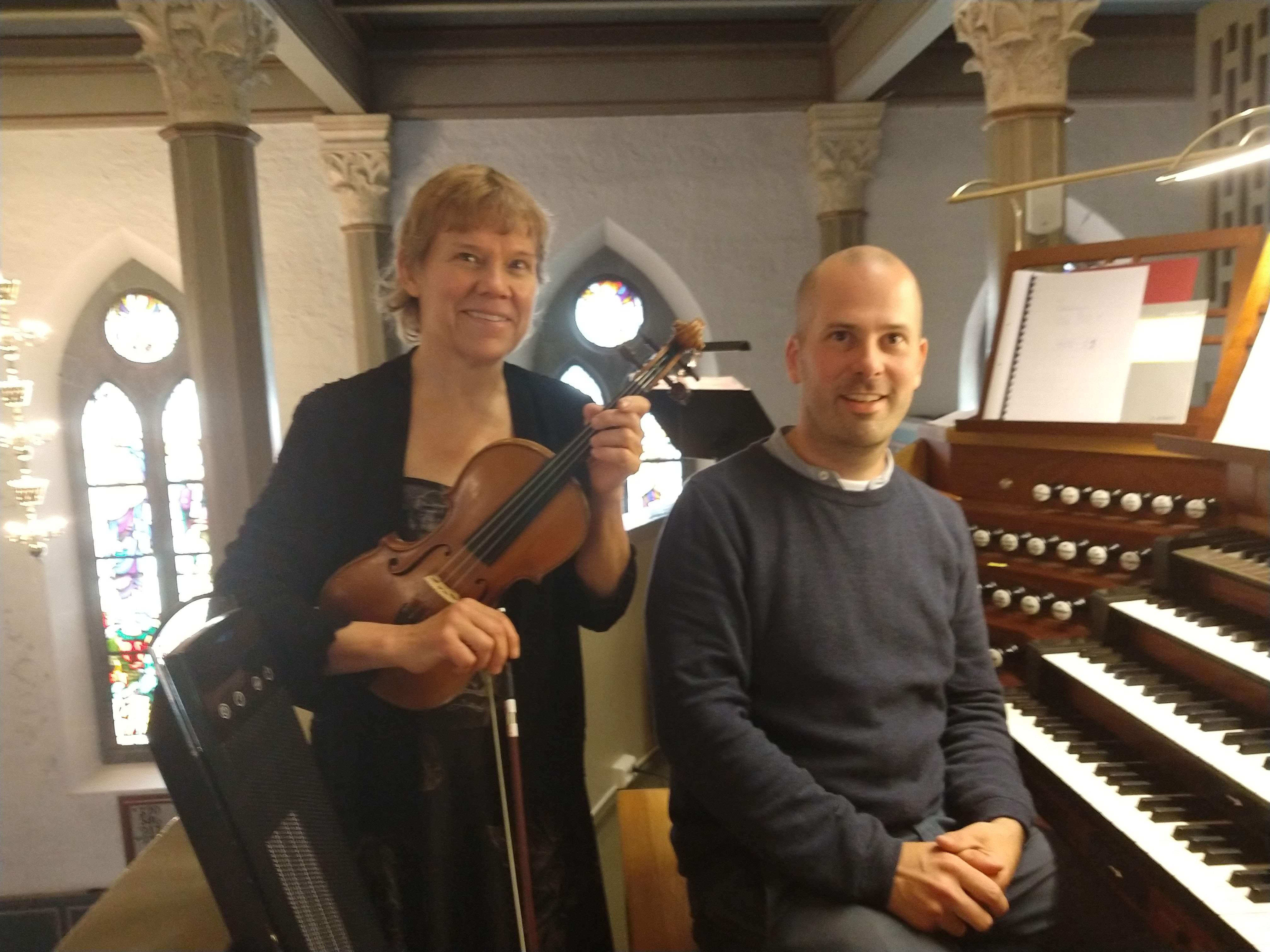 Tone og Espen Melø konsert Tønsberg domkirke