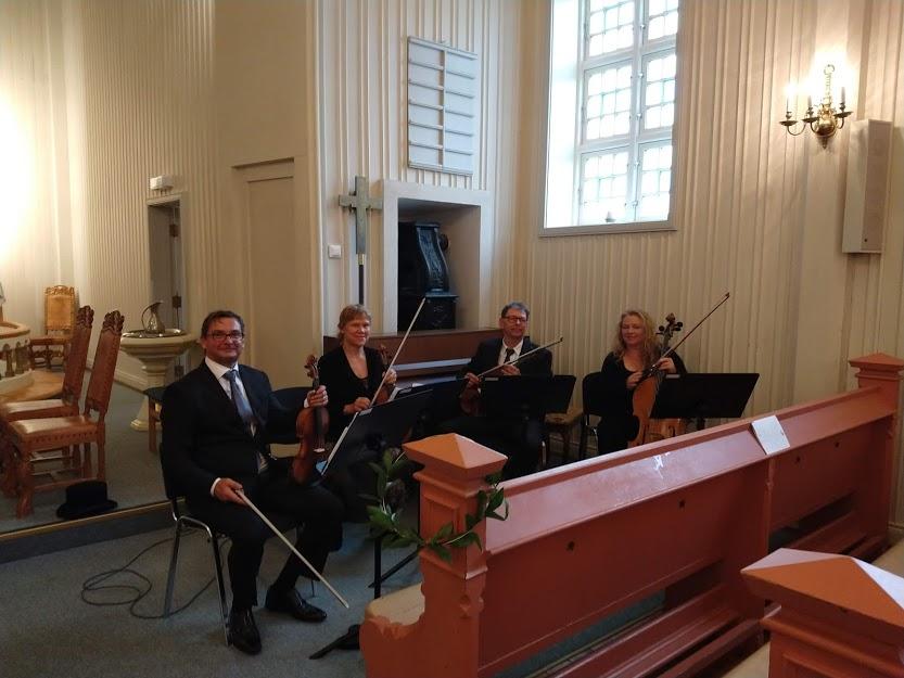 Vielse med Vestfold strykekvartett
