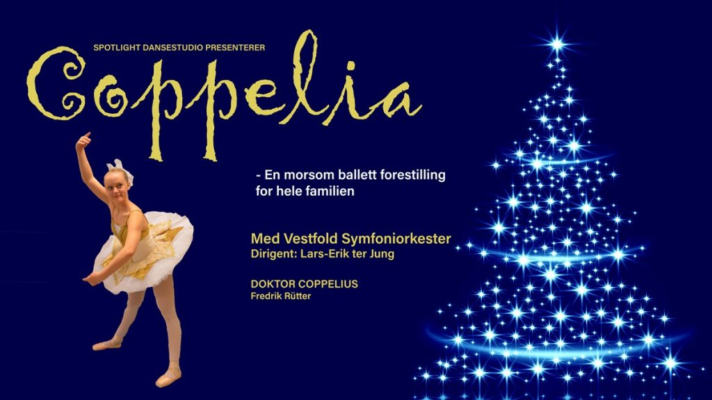 Balletten Coppelia i Hjertnes