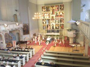 Begravelse Sandefjord kirke