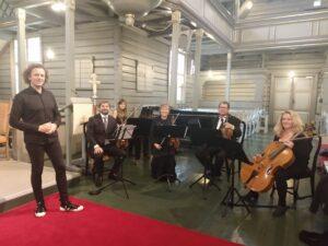 Strykekvartett er flott i bryllup!
