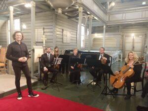 Hør opptak med Sandefjord strykekvartett
